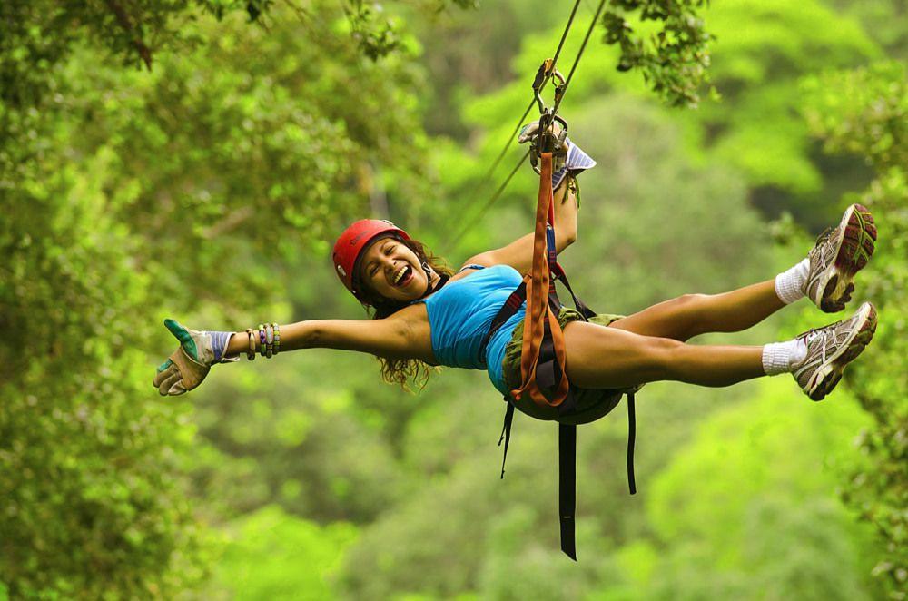 Costa Rica canopy zip-line